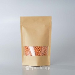 Pouch Kraft Window 14x22
