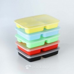 Box Bento Plastik Warna