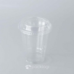 PET Cup Click Lid 12 oz
