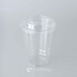 PET Cup Click Lid 16 oz
