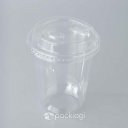 PET Cup Oval Click 14 oz