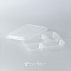 Box Bento Plastik Bening