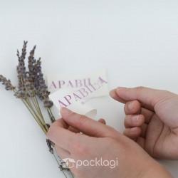 Sticker Label Transparan