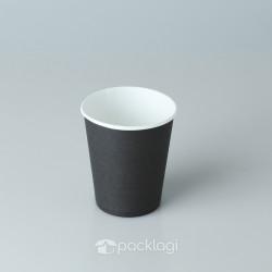 Papercup Black 8 Oz